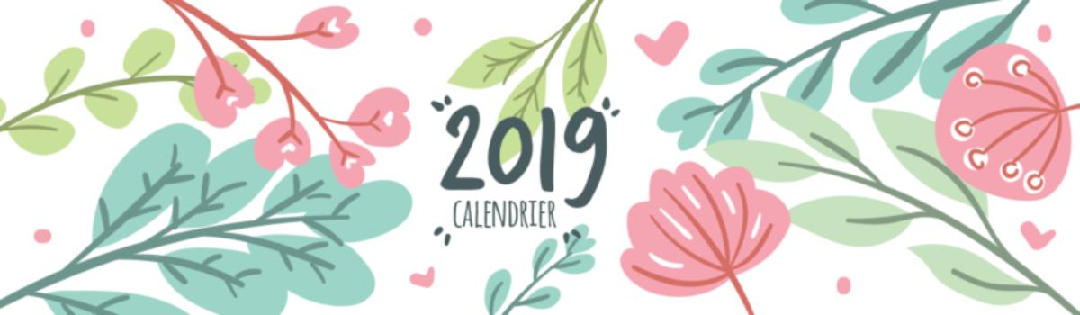 Calendrier des stages et LDN 2019